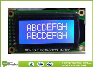 Small 8 * 2 Character Display Module , Lcd Character Module ISO9001 Certification